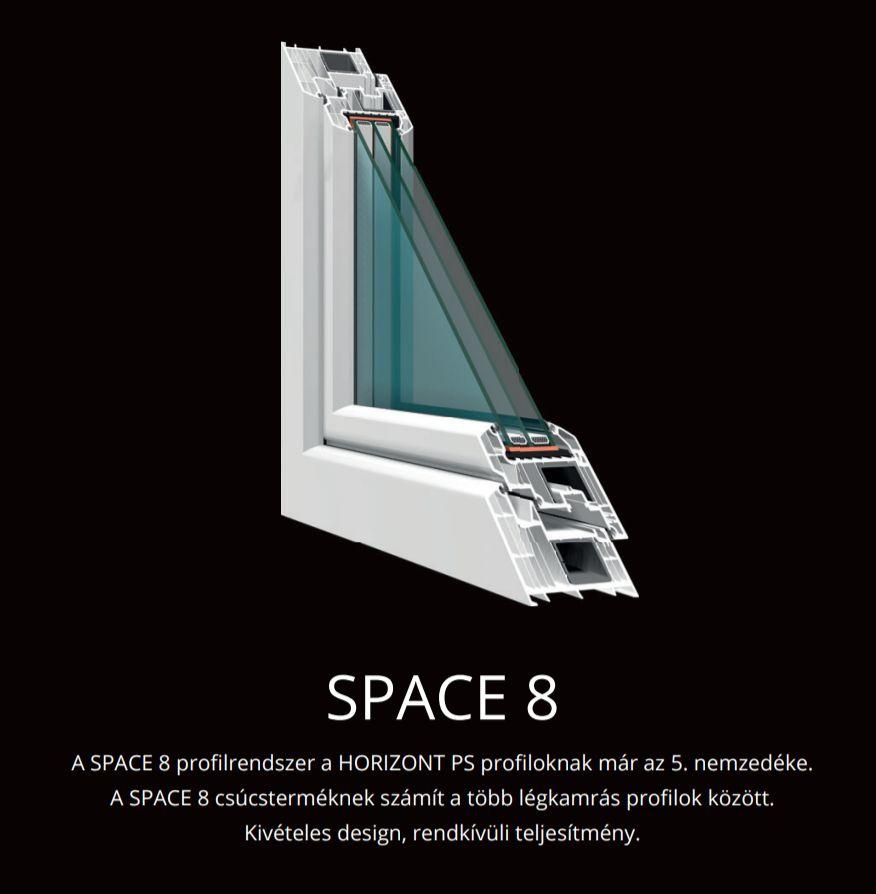 SPACE 8 OLCSÓ JÓ ABLAKPROFIL